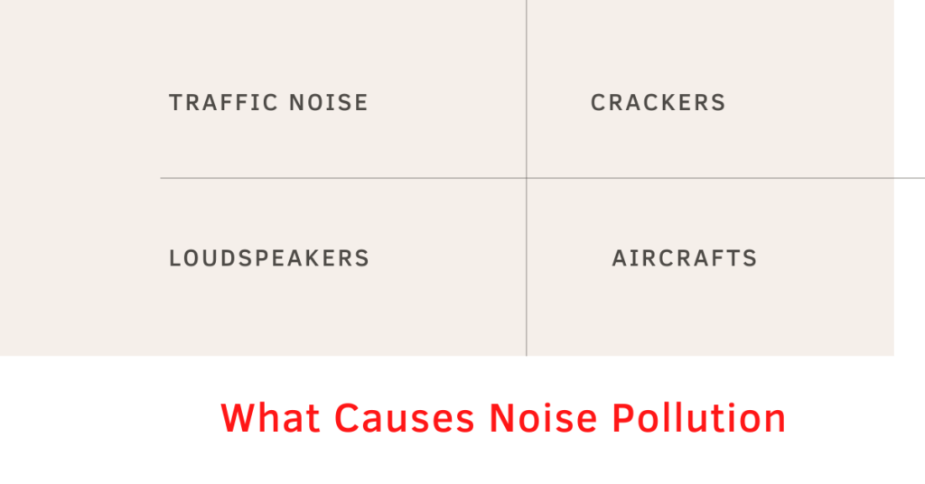 Noise Pollution Causes
