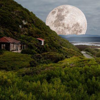 supermoon, full moon, moonlight